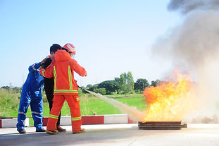 ResQsupport provide fire extinguisher training