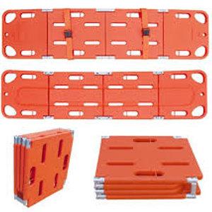 Compact 3 way folding spinal board