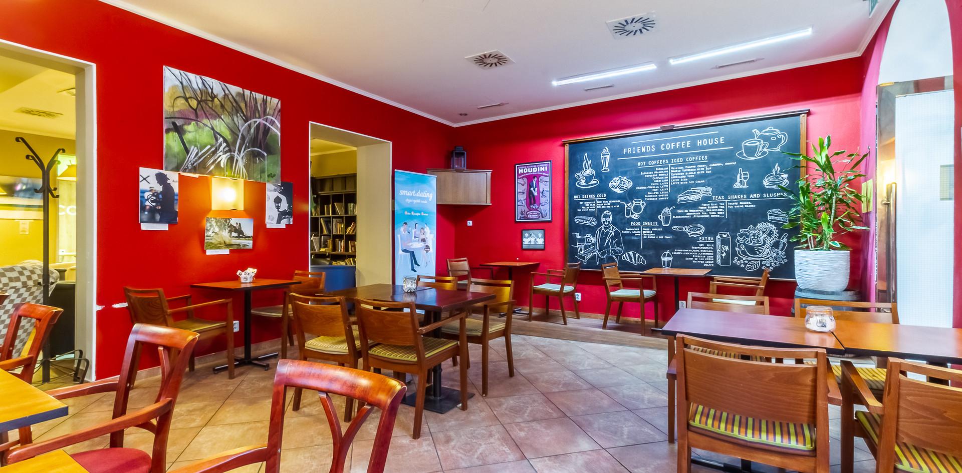 Kavárna - posezení