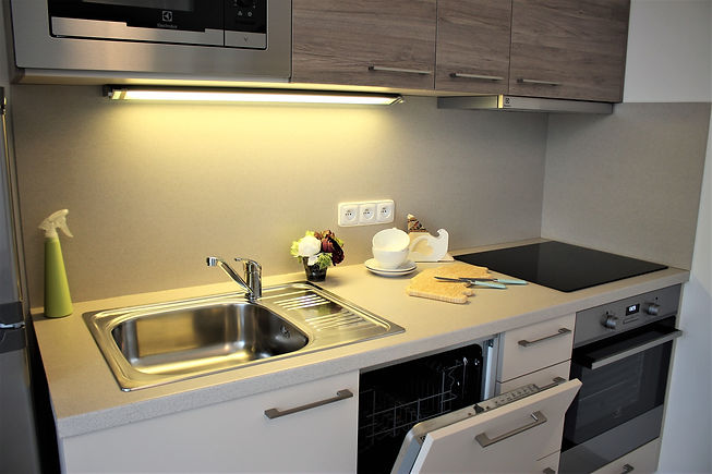 Kuchyně garsoniéra
