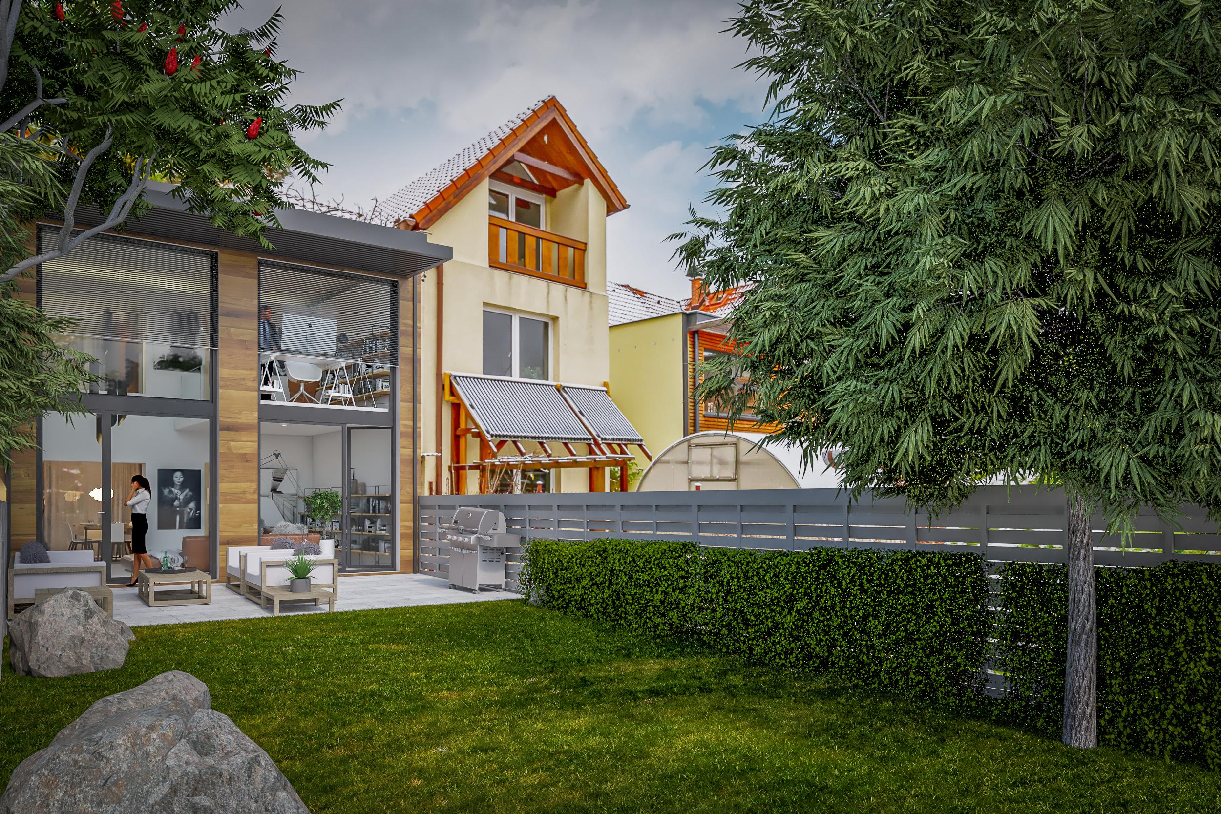 Možná vizualizace domu po rekonstrukci