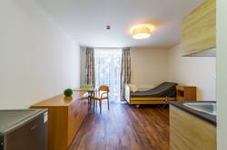 Obývací pokoj s jídelním koutkem