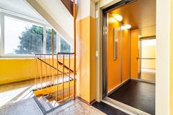 Revitalizovaný dům má nový výtah