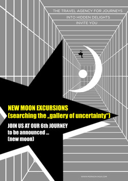 New moon excursion