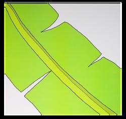"""""""Banana Leaf"""" Patterned Paper"""