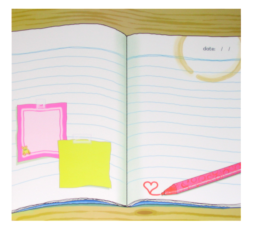 """Notebook"" Patterned Paper"