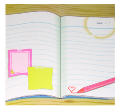 """""""Notebook"""" Patterned Paper"""