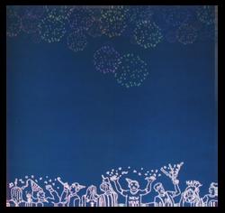 """""""Fireworks"""" Patterned Paper"""