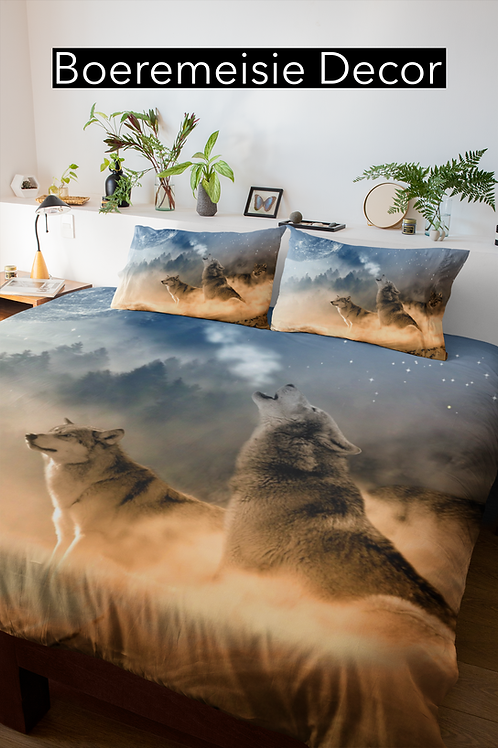 Wolf Comforter