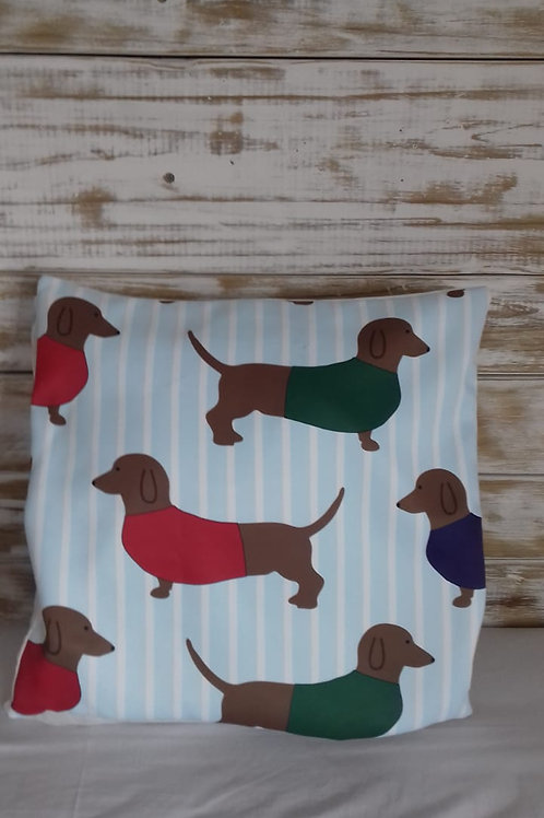 50X50 Dachshund pillow case