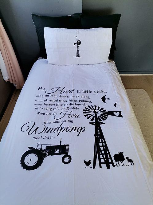 Windpomp plaas Wit