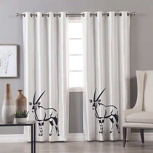 GEMSBOK CURTAIN EYELET