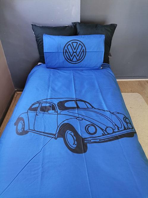 VW Beetle Denim Blue