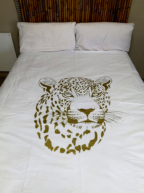 Leopard King White