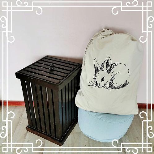 Bunny Laundry Bag