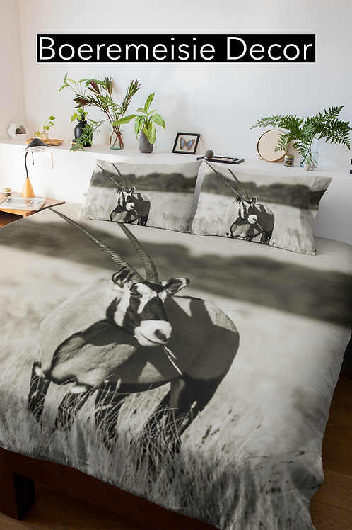 Gemsbok Grey Comforter