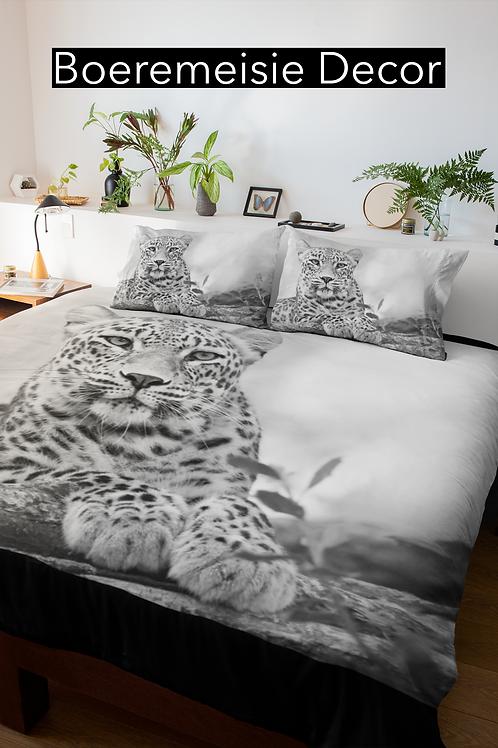 Luiperd Grys  Comforter