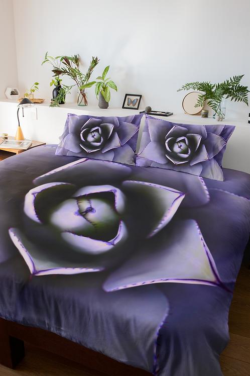 PURPLE FLOWER - Comforter