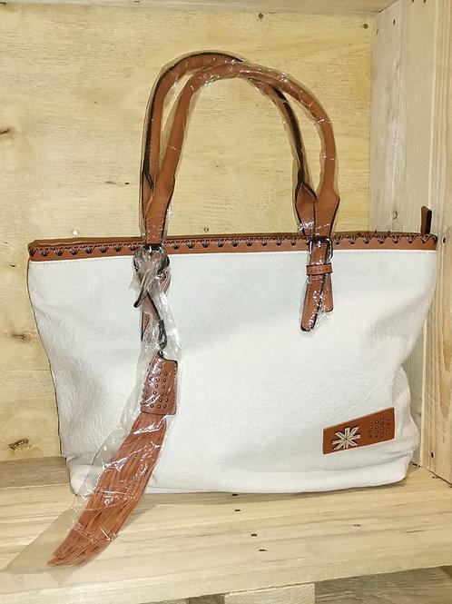 Ladies white Handbags Vivice brand