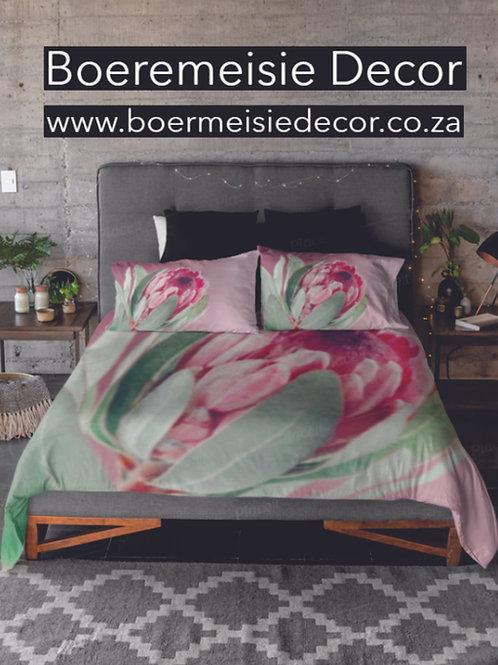 Pink Protea - DUVET SET