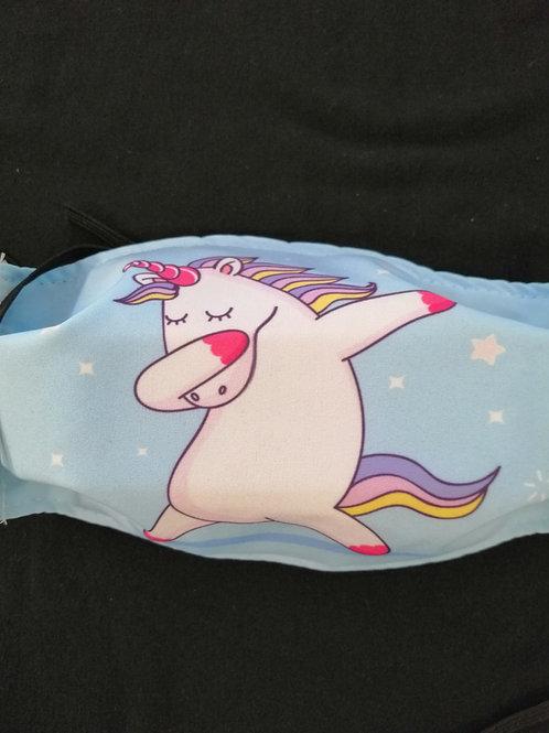 Unicorn 3 X Layer Fabric Mask