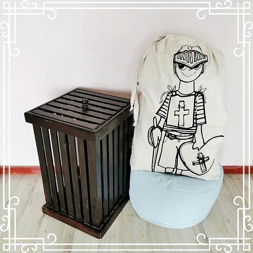 Warrior Boy Laundry Bag