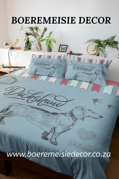 Dachshund Bunting  Comforter