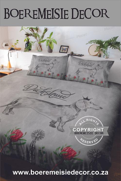 Dachshund Windmill Comforter