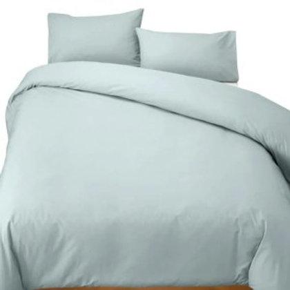 Duck Egg Percale Cotton 200TC Duvet cover set