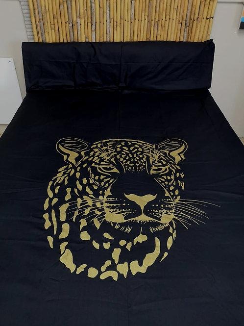 Leopard King Black