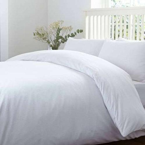 White Percale Cotton 200TC Duvet cover set
