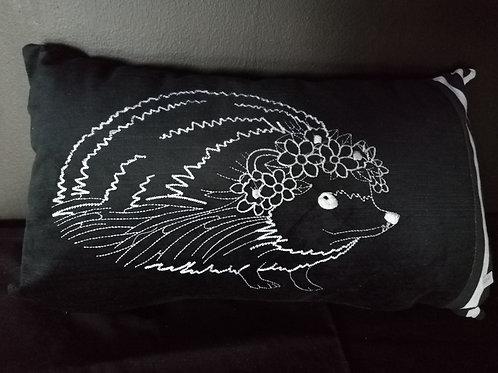 Swade black scatter cushion