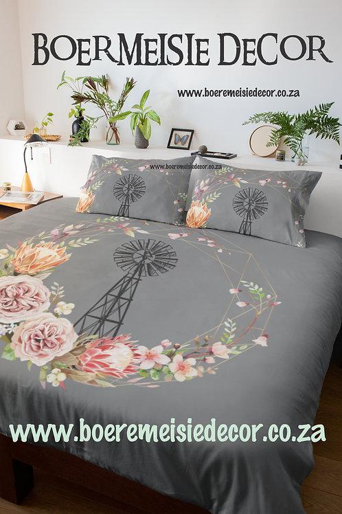 Windpomp Blomme Comforter