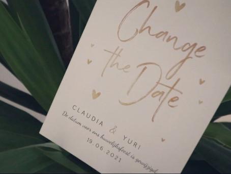 Een bruiloft videograaf tijdens corona: de voorwaarden