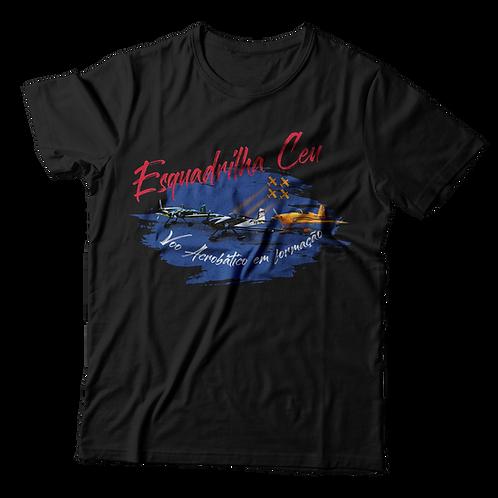 Blusa Masculina - Preta | Esquadrilha Ceu - Aviões