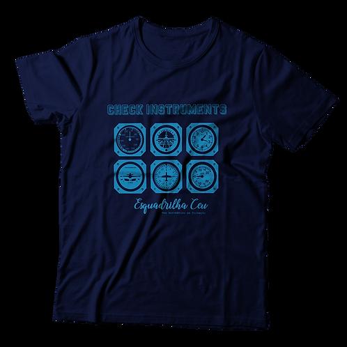 Blusa Masculina - Azul Marinho | Esquadrilha Ceu - Aviônica