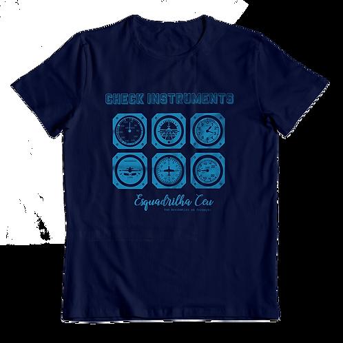 Blusa Feminina - Azul Marinho | Esquadrilha Ceu - Aviônica
