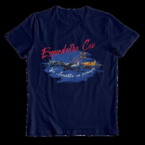 Blusa Feminina - Azul Marinho | Esquadrilha Ceu - Aviões