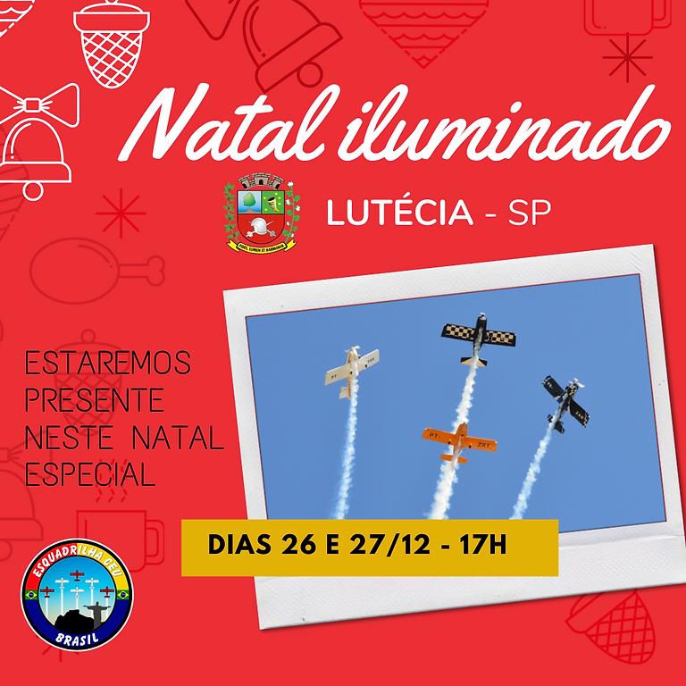 Natal Iluminado de Lutécia e Campos Novos Paulista - SP.