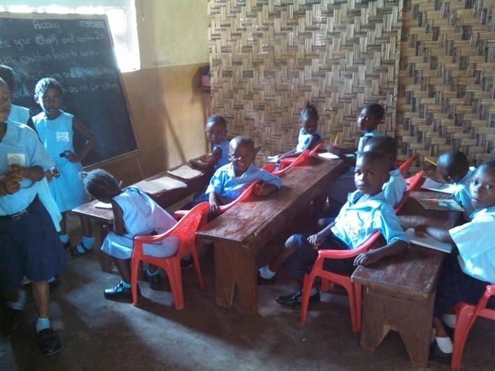 Door Academy classroom