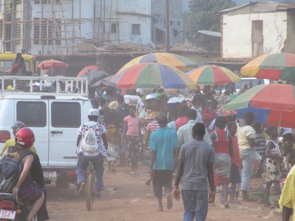 Freetown street