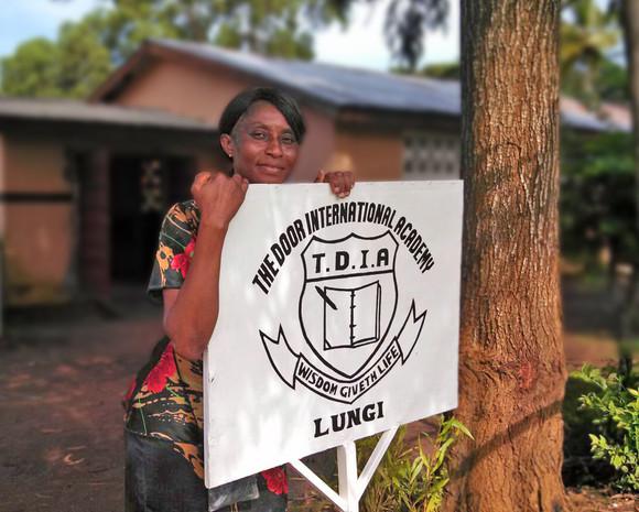 Ashley Fayia, Principal of Door International Academy
