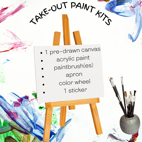Take Out Paint Kit