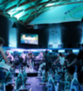 Indoor Cycling class taught by Tara Lyn Emerson at Revolution Fitness