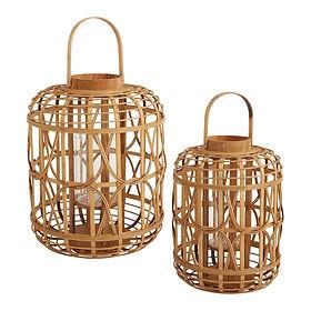 Bamboo Canal Lanterns