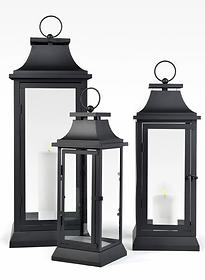 Black Hampton Lanterns