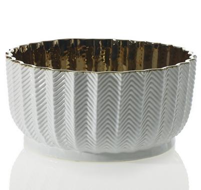 """Melrose Floral Bowl - 11.75""""x5.5"""""""