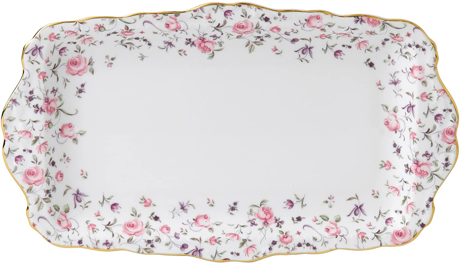 Country Floral Platter