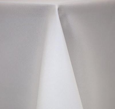 """White Polyester Linens  - 90""""x156"""", 90""""x132"""", 132"""" Round, 120"""" Round, 108"""" Round, 90"""" Round"""