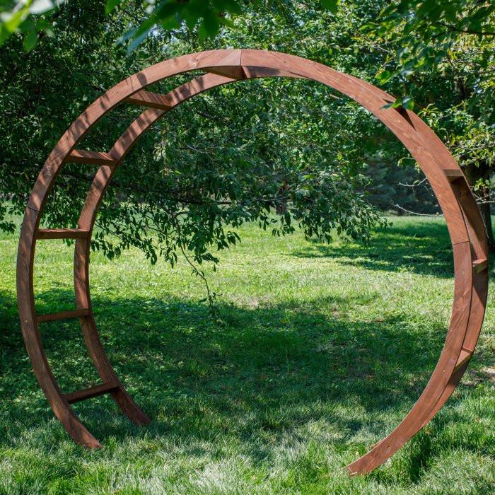 Wooden Circular Arbor
